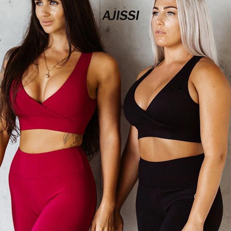 2 piece push up leggings and bra top yoga Workout Sport 2Pcs Workout for women Gym leggings sportswear female gym sets