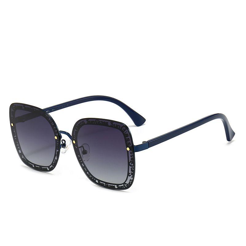 6220 جديد أزياء عالية الجودة مصمم نظارات عالية الجودة ماركة الاستقطاب عدسة نظارات الشمس النظارات للنساء النظارات إطار معدني