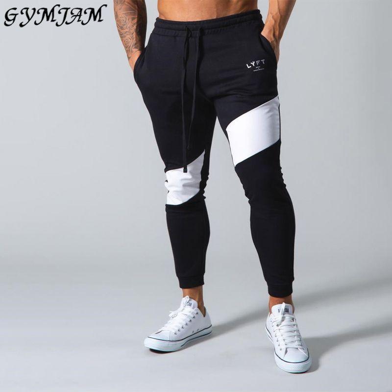 Streetwear Jogging GYM Sport Coton homme Slim Fitness Pantalons 1116