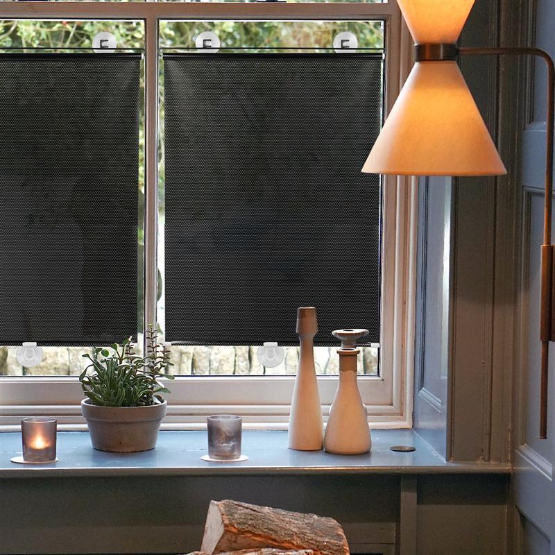 Balcón perforado de la succión de la succión de la succión del balcón libre cortina que no marca la cortina y las persianas sin golpe para la puerta portátil para la puerta de la ventana