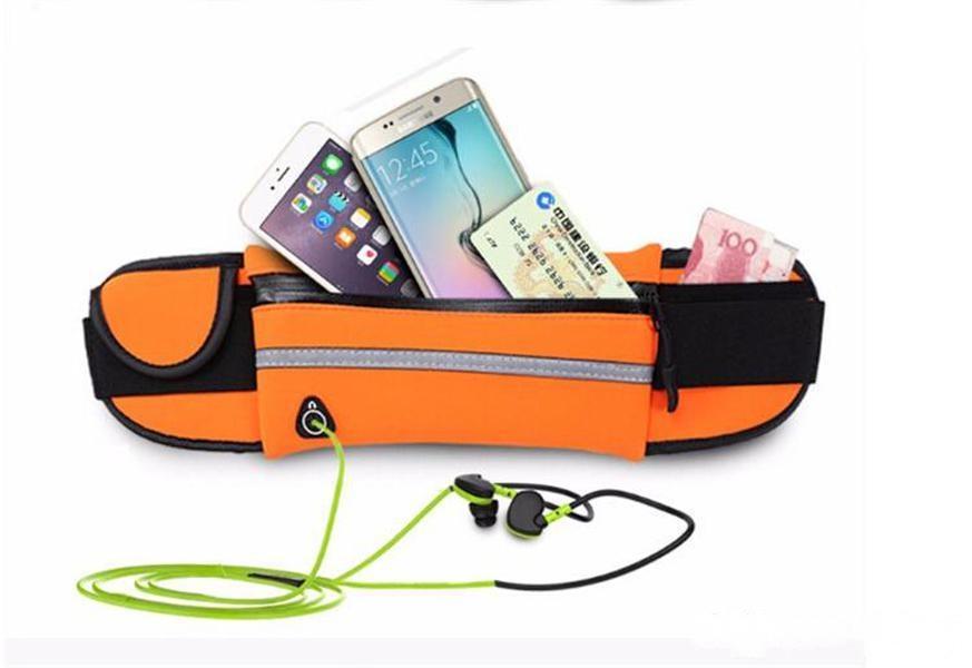 Водонепроницаемый Спортивный Сумка Талия Телефон Чехол Спорт на открытом воздухе Пробега Бег Празднование Гнезда Карманный чехол для iPhone 6