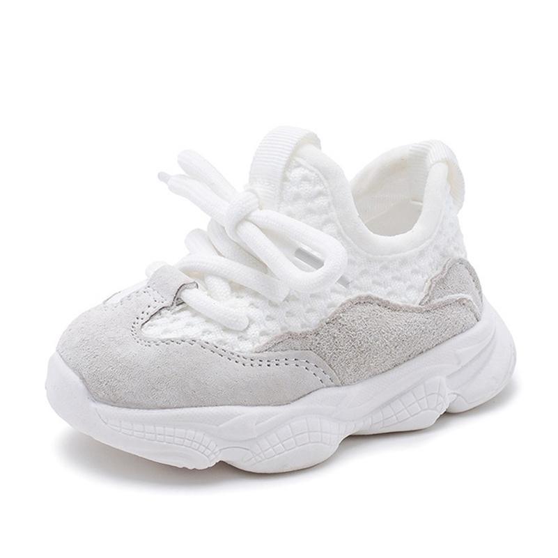 AOGT Весна / осень ребёнок мальчик мальчик малышей обувь повседневная детская спортивная обувь мягкая нижняя удобная дышащая детская кроссовка 201222