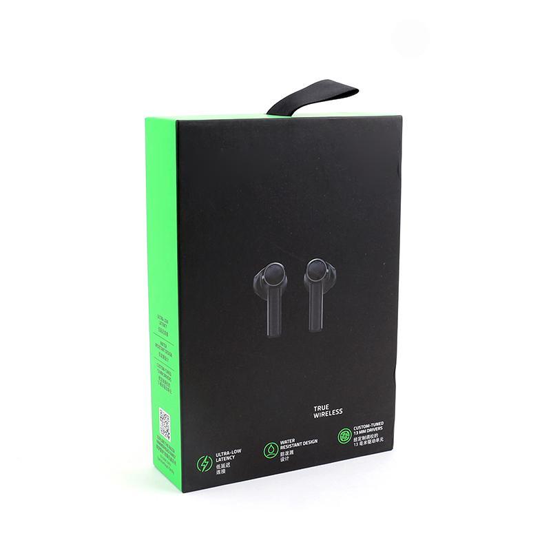 Auricolari senza fili di Razer Hammerhead Cuffie senza fili Bluetooth Auricolari di alta qualità Auricolare di gioco del suono TWS Sport Auricolari Bluetooth Spedizione gratuita