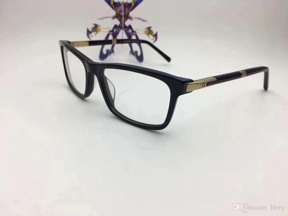 Wholesale-italien marque 540F concepteur conçu lunettes cadre lunettes cadre mâle assortie à plat fini lumière myopique lunettes cadre