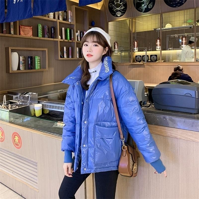 Vestiti di cotone femminile Nuova giacca imbottita in cotone per la giacca di cotone trapuntato sottile stile sottile giacca invernale femminile 201223