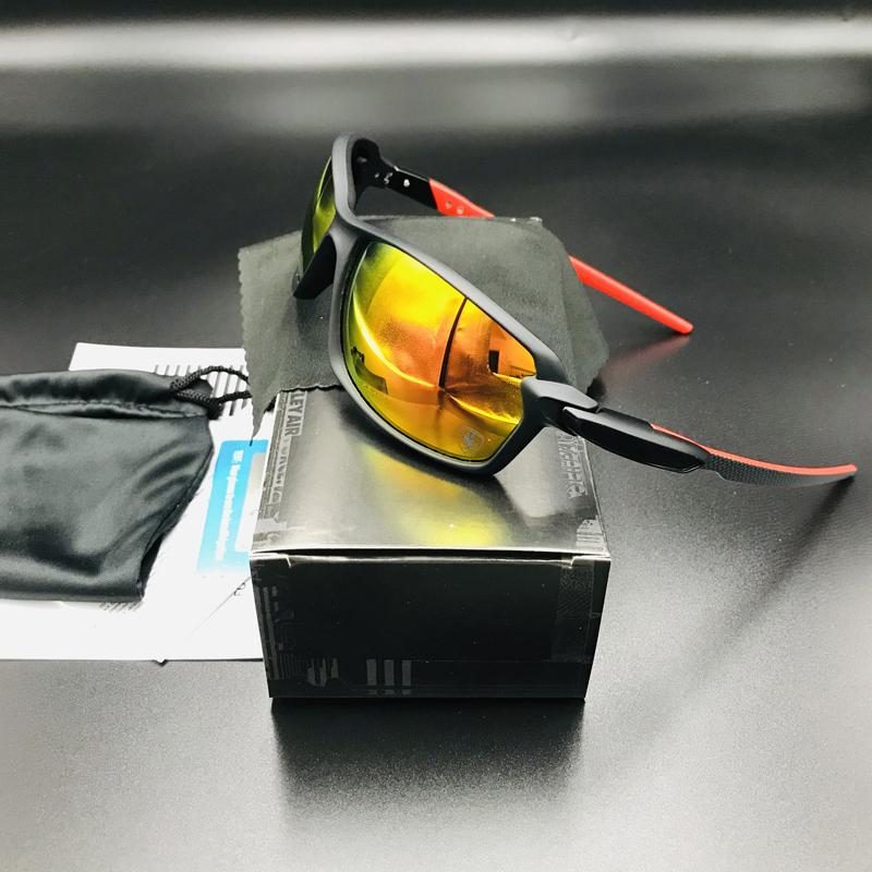 Occhiali da equitazione UV400 polarizzati all'aperto UV400 Uomini Donne Sport Occhiali da ciclismo Goggles MTB Mountain Bike Eyewear Road Bicycle Occhiali da sole