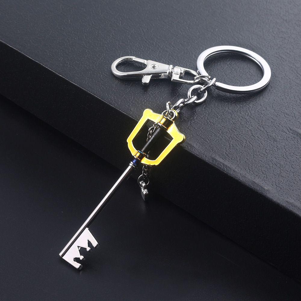 Kingdom Hearts Sora Keyblade Llavero Forma Forma Arma Colgante Llavero Para Mujeres Hombres Charker Llavero Joyería de souvenir Regalo