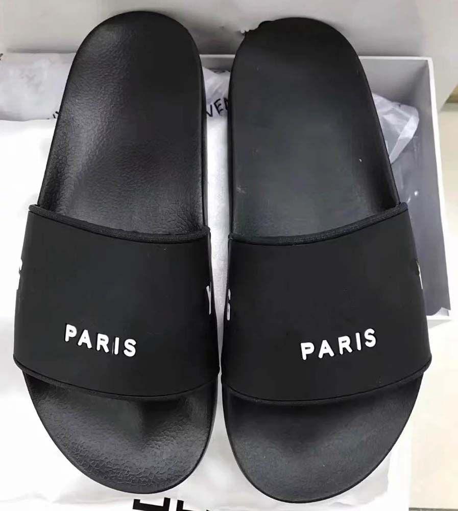 Con caja de mejor calidad zapatillas sandalias sandalias zapatillas sandalias huaraches chanclas para hombre mujer por BAG07 J60 01