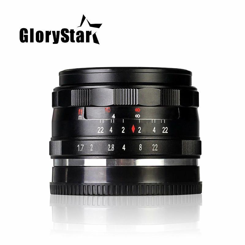 -E-35-1.7 35mm F1.7 Büyük Açıklıklı Manuel Odak Lens APS-C Sony E Montaj Kameralar NEX7 A6000 A6300 A6500 A6400 A5100