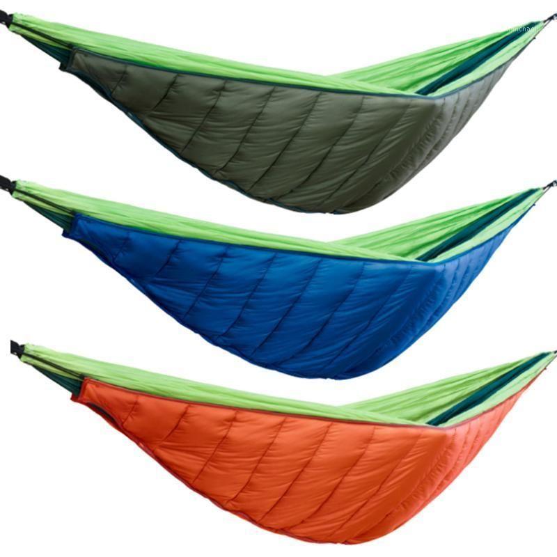 Winter Warm Sleeping Bag Hammock Underquilt Blanket 20D Waterproof Nylon Warmer Cover for Outdoor Camping Hiking1