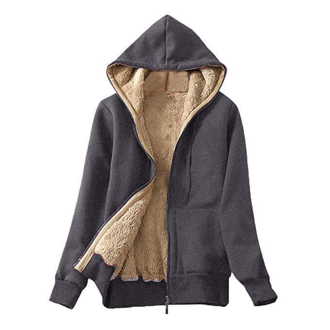 más terciopelo de gran tamaño Harajuku cremallera con capucha con capucha de invierno ropa de invierno talla grande Sudadera Streetwear Mujeres de estilo coreano Tops LJ201120