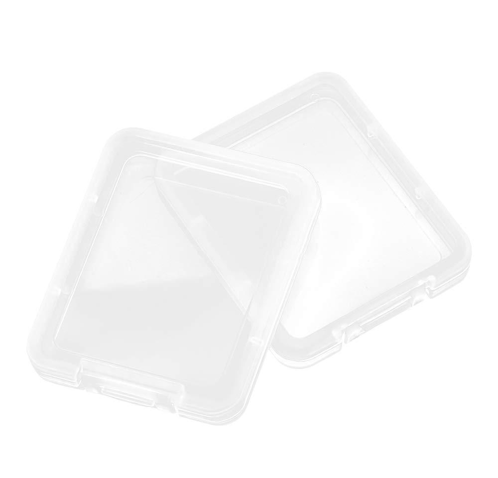 Konteyner Kutuları Plastik Konteyner Bellek Ücretsiz Aracı Kart Taşıma Depolama Kartı Şeffaf Paramparça CF Durumda Koruma Kolay Kutu Jllyh