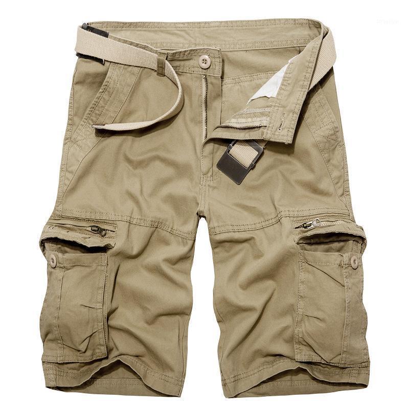 Summer Wear New Products Bib Overall Men'S Wear Batch Korean-style Multi-pockets Casual Bib Overall Men's Shorts1