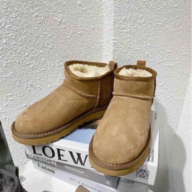 Z254,128, botas de neve, sapatos femininos, botas de pele, inverno, além de veludo para manter aquecido, sapatos de algodão feminino.