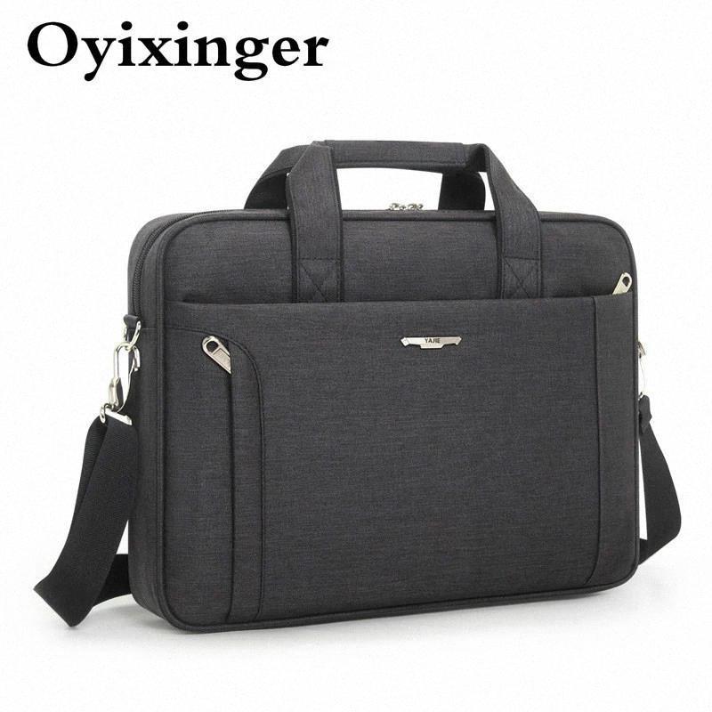 Oyixinger # xs9x para maletín de 14 pulgadas bolsa portátil impermeable hombro oxford bolso negocio mensajero mujer hombres soltero 15.6 hombre hombres jooi