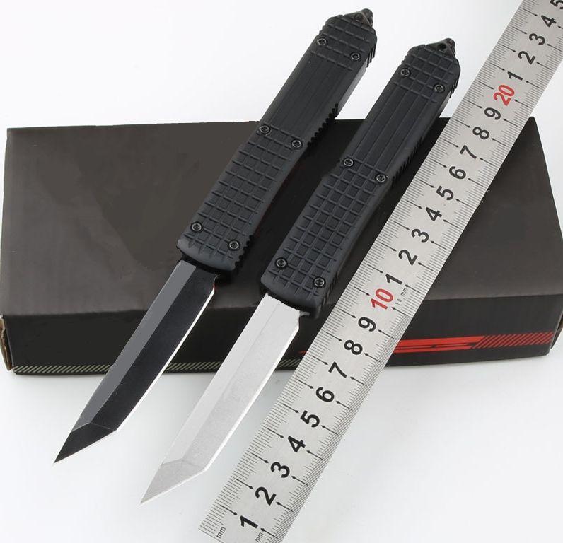 Ut delta tanto faca preto mk2 (3,4 preto) dupla ação acampamento tático dobrável fixo lâmina coleção facas presente de xmas