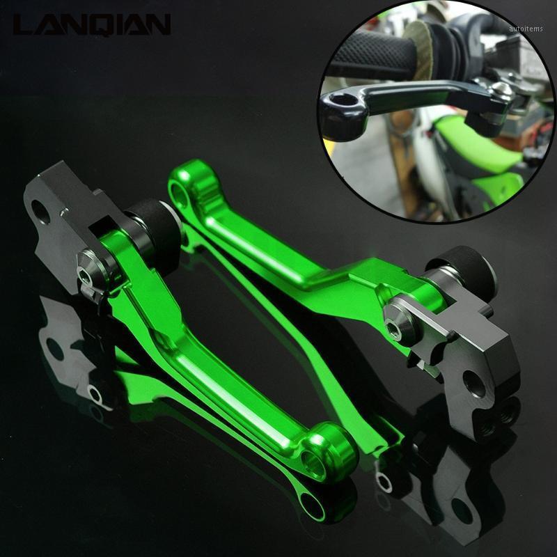 Мотоцикл тормоза грязный велосипедный поворот рычаг тормозной муфты для KX KLX KDX 65 80 85 125 150 250 450 F R SR D-трекер Части1