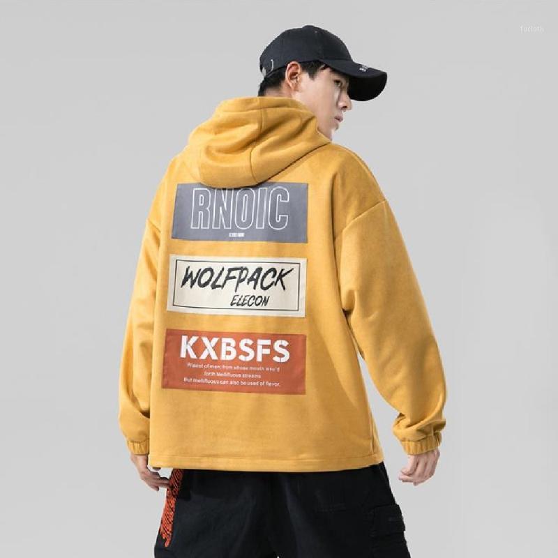 2020 Sudadera suelta Versión coreana Abrigo casual para hombre Primavera Primavera PERSONALIZADO PERSONALIZADO Moda de moda Fitness Jogger Sportswear1