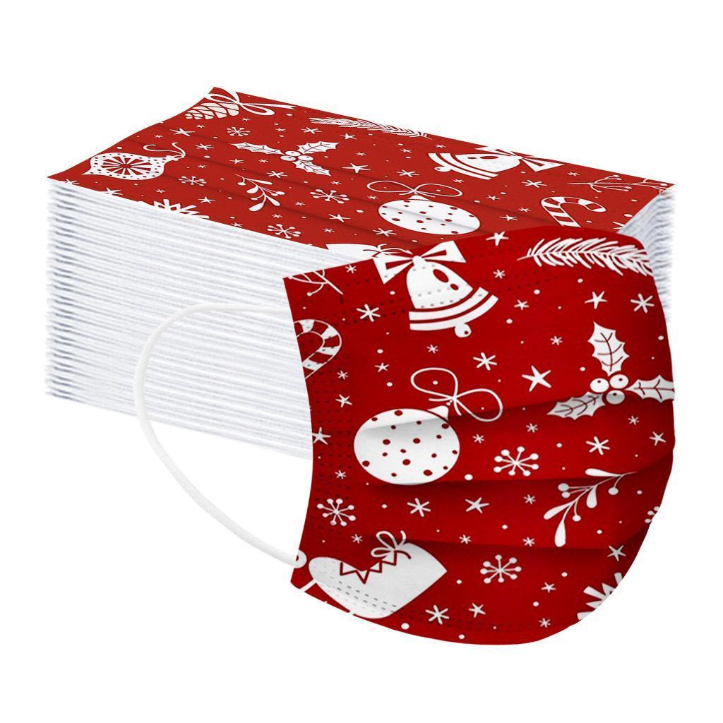 الجملة الاطفال كارتو المطبوعة قناع الوجه المتاح مكافحة الغبار الفم غطاء غير المنسوجة أقنعة حزب عيد الميلاد
