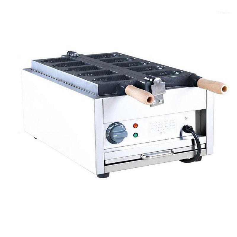 Jamielin Commercial Non-stick Electric Bell Shaped Taiyaki Maker Machine Waffle Machine Cone Maker Iron Baker1