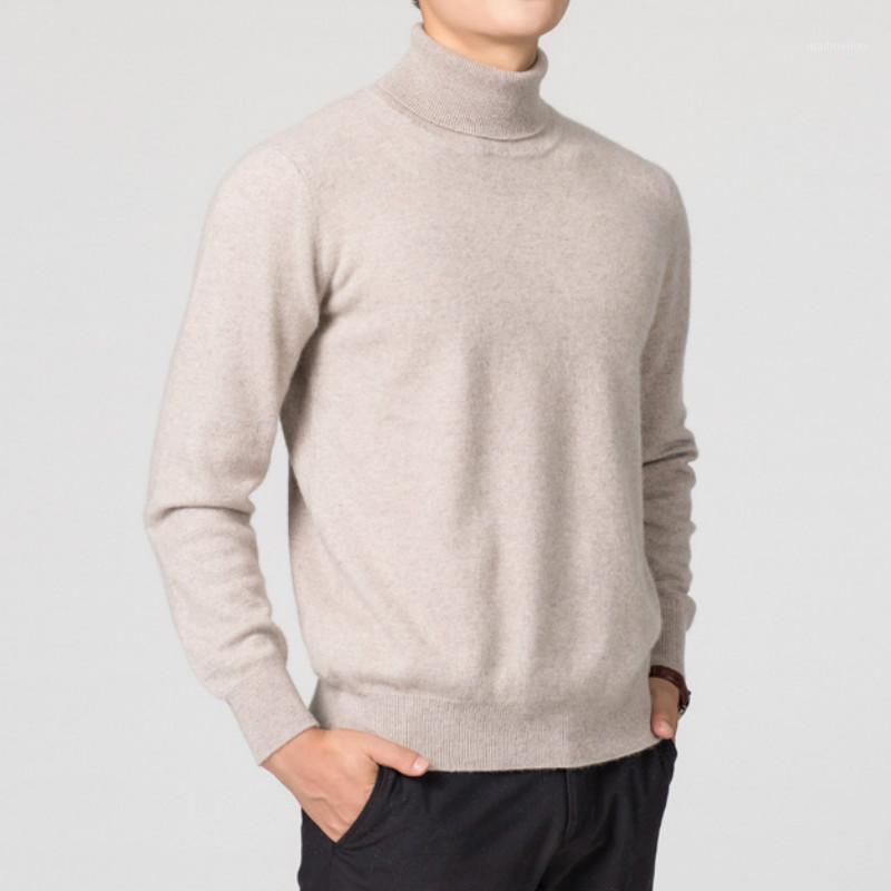 Suéteres para hombres hombres suéter invierno caída tortuga cuello de césped mangas largas de otoño ropa de otoño calidez sólido jersey moda clásico knitwear1