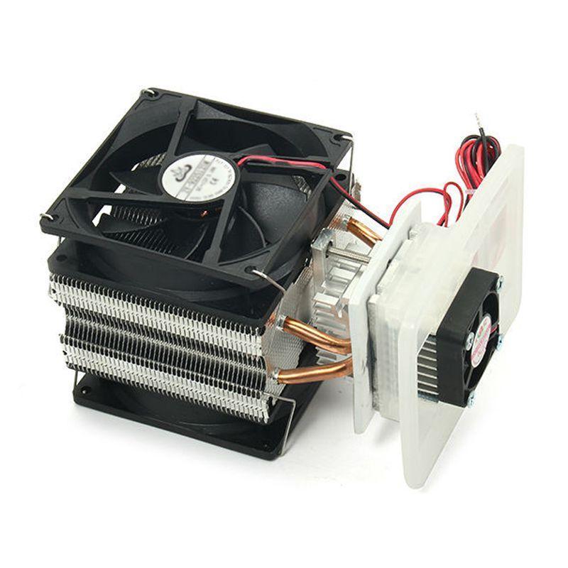 12V 6A eletrônico suíte de produção geladeira chip de refrigeração DIY semicondutores 12V semicondutores radiador eletrônico