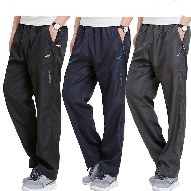 Más tamaño 4xl 5xl 6xl pantalones de chándal para hombres fuera de joggers ejercicios pantalones hombres ropa deportiva trabajando trabajando pantalones activos pantalones masculinos pantalones y200114