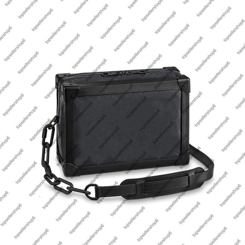 Çanta M44730 M55700 Yumuşak Gövde Erkekler Kadınlar Messenger Çanta Çanta Tuval Dana Lüks Tasarımcı Deri Zincir Çanta Omuz