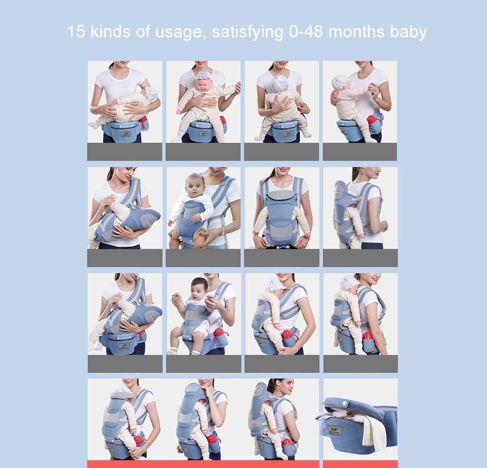Bebê Carrier Ergonômico Infantil Bebê Sling para Newb Jllikg MX_Home