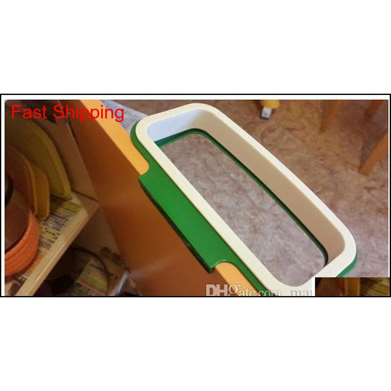 10 шт. / Лот мешок для мусора хранения держатель стойки кухонный шкаф шкаф дверь висит мусорный мусорщик мешок хранения Qyllgf Packing2010