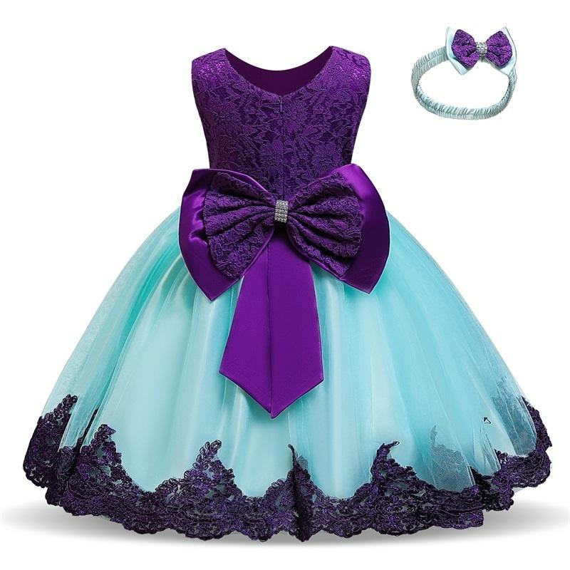 طفل الفتيات اللباس للحزب عيد و الزفاف فساتين عيد الأميرة زهرة توتو اللباس الفتيات الصغيرات حفلة موسيقية ثوب LJ20123