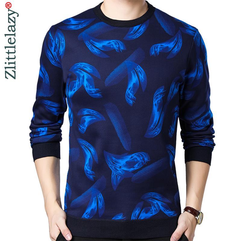 Casual épais chaude hiver luxe tricoté pull triple hommes portent une robe de jersey pull tricover Homme Sweaters Homme Fashions 02141 201124