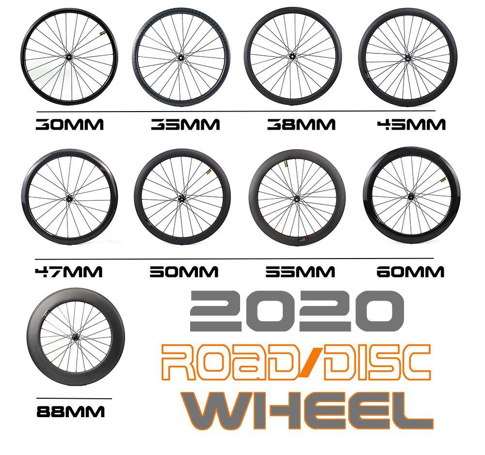 Hulkwheels Disco Freio Rodas de Carbono 700C T800 Carbono Fiber Bicicleta Carbono Wheelset Calçadeira Tubeless Bicicleta Bicicleta Rodas