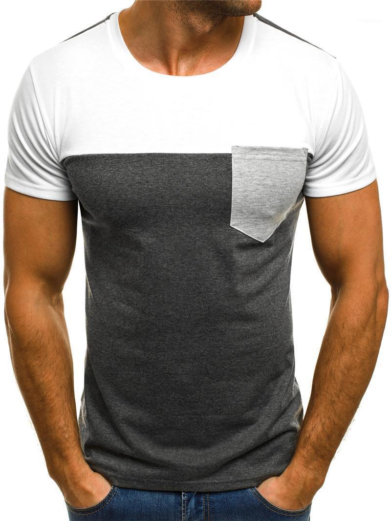 Teenager Multiple Tees Summer Tees Short Neck Simple Sleeved Designer Clothing O Mens Tops Tshirt Style Boy Choice Grewj