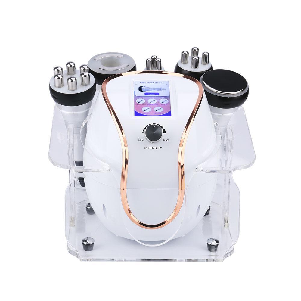 المحمولة 5 في 1 s شكل آلة التجويف مصغرة 40K rf التجويف فراغ آلة لفقدان الدهون في الجسم
