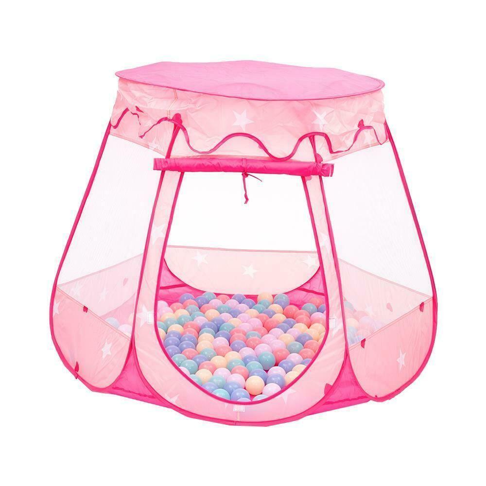 Bébé enfant extérieur princesse princesse jardin joue playhouse playhouse ballon piscine piscine toddler jouets