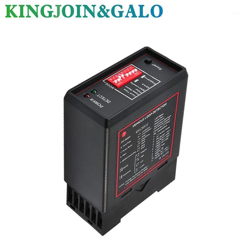 car parking system Single channel one relay Loop Vehicle Detector PD132 with a best price/detector de lazo inductivo1