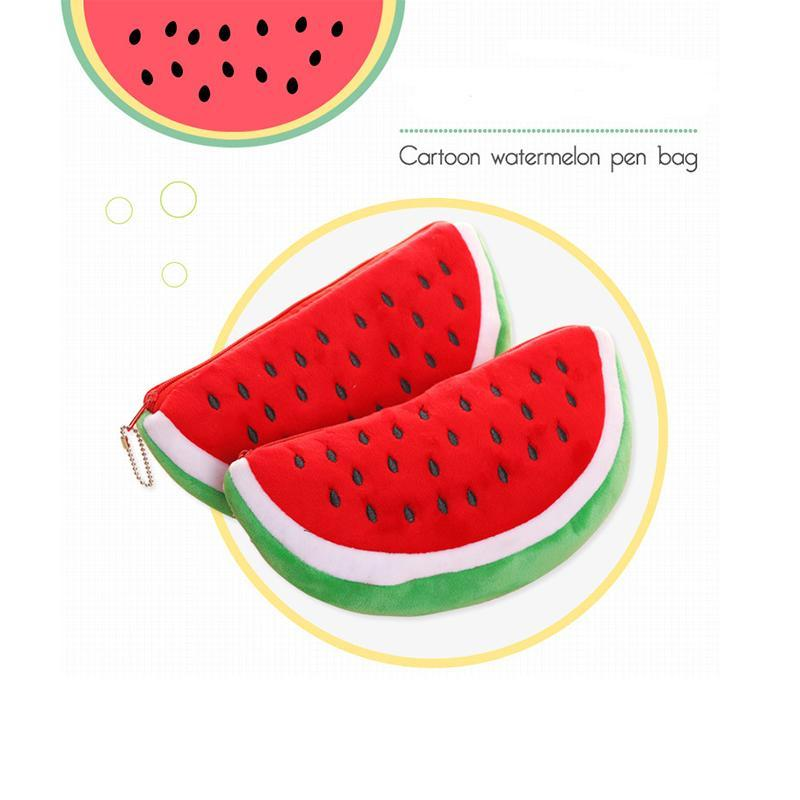 Wallet Watermelon Pencil Office Purse For Pouch Kids Gifts Stationery Pencil Supplies Cute Makeup Bag Bags School Case Cvrod