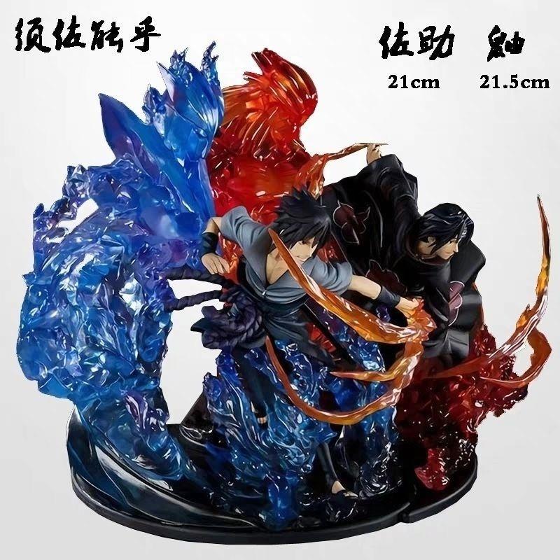 Iju4hanime modello fatto a mano Sasuke Naruto Six Ban Yu Zhipoku giocattolo come regalo per il suo fidanzato9kjyu