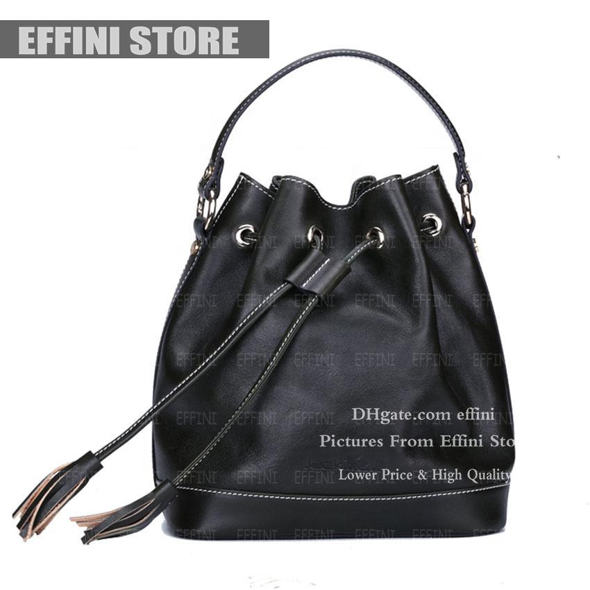 Плечо кожаная сумка сумка высокого качества effini магазин ведро люкс дизайнеры дизайнеры сумка crossbody кошелек подлинные женщины пресбиpic fas kulxv