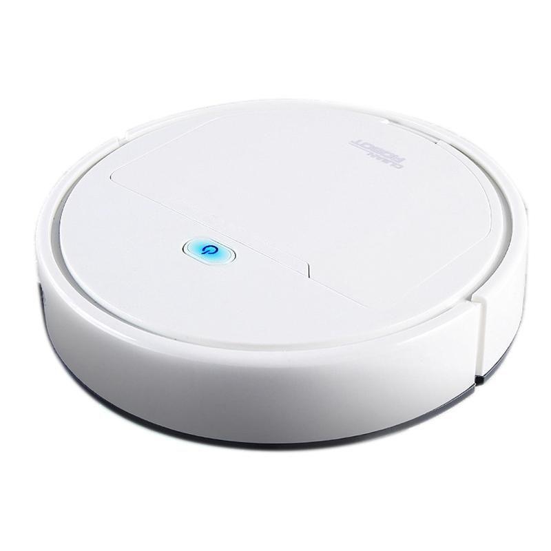 3-в-1 автоматическая зарядка лигантной лигена ING ленивый вакуумный очиститель бытовой уборки, белый