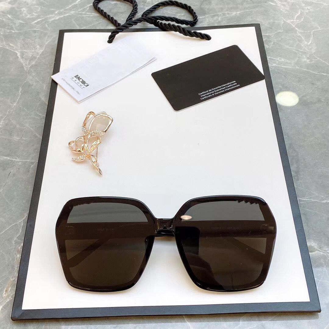 Luxus Neue Frauen Mode Show Übergroße Rahmen Sonnenbrille 5316 Speziell entworfene Sternbrille Top Qualität UV400 Schutz Kommen Sie mit Box