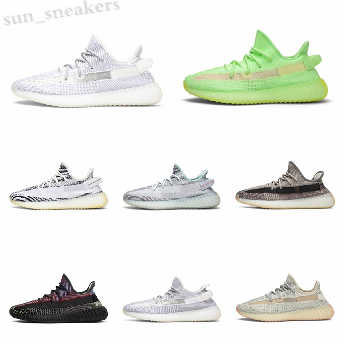 Tereyağı Susame 35 V2 Statik Erkek Ayakkabı Erkek Ayakkabı Sneakers Mavi Renk Tonu Üçlü Beyaz Bayan Ayakkabı Zebre Bred Eğitmenler Boyutu36-45 RG06