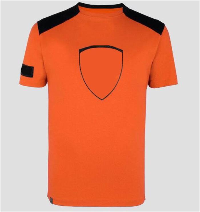 F1 Formel 1 Fans Racing Kurzarm T-Shirt Team Version Car Logo Overalls Sport- und Freizeit-Rundhals-Tops können angepasst werden