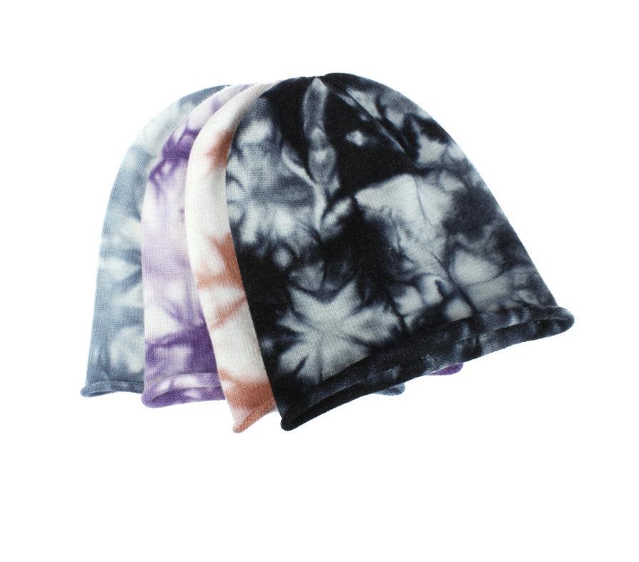 Yeni Kravat Boya Beanie Şapka Kafatası Kapaklar Kadınlar Ve Erkekler için Moda Kış Örme Kapaklar Yumuşak Sıcak Kayak Şapka Unisex