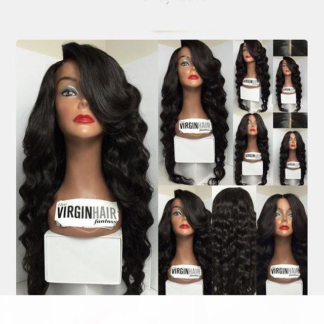 100% brasilianisches menschliches haar volle spitzeperücken spitze frontperücken, volle spitze menschliche haareperücken für schwarze frauen, rpgshow haare produkte