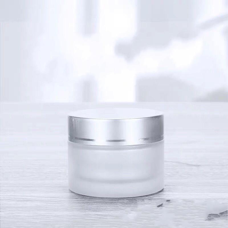 Портативные бутылки матовой косметики пустое крем для лица Удобная женщина мужские колбы стеклянные банку ванная комната санузно, новая модель 1 15LJ K2