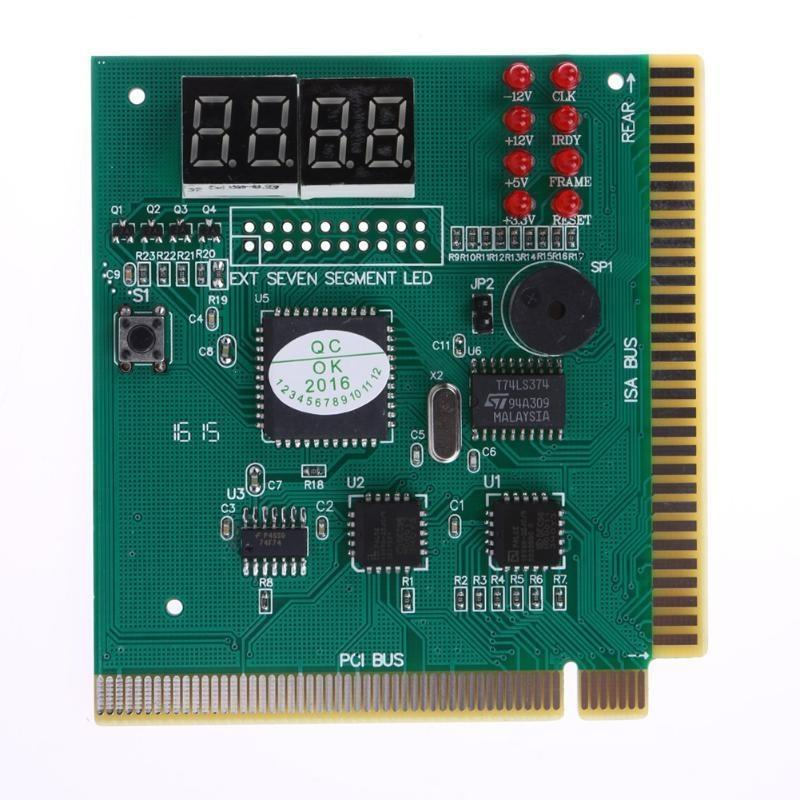 ETWORDING Networking Tools 4-stellige LCD-PC-Mainboard Analysator Display-Diagnosekarte Motherboard-Fehler-Post-Tester für Computer-PC-Main ...