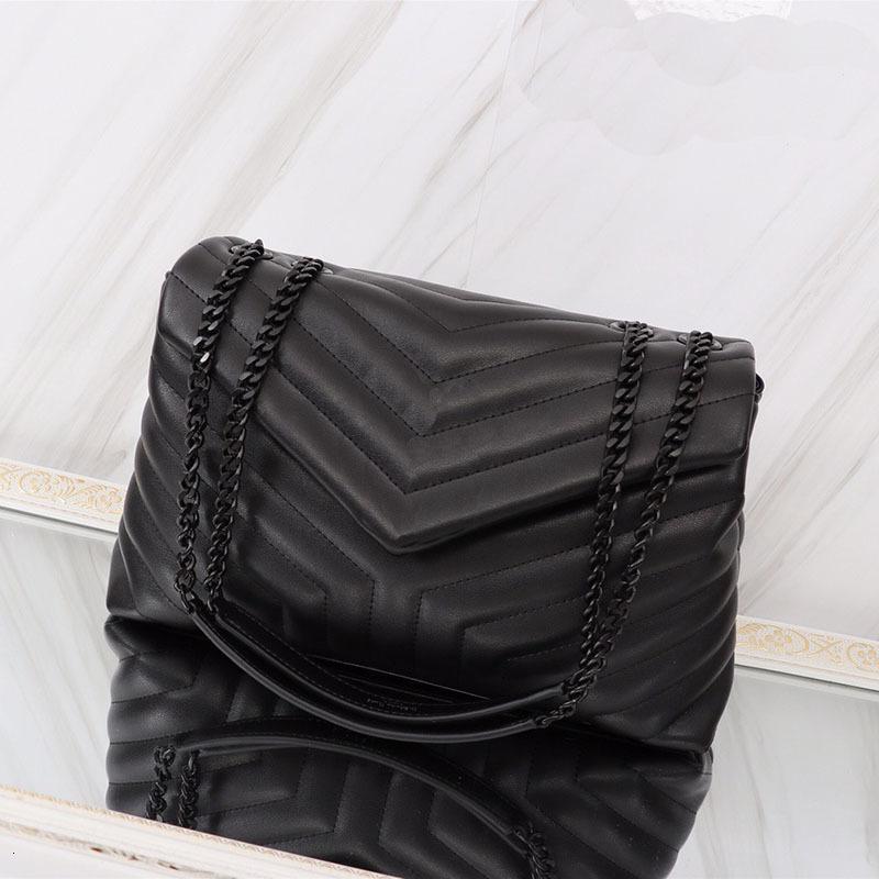 2021 Classic Jumbo 31 cm 26 cm 20 cm x Forma grande Flap Cadena Bolsos de hombro Bolso Bolso Mujeres Clutch Messenger Bolsa de asas Crossbody Bolse Compras