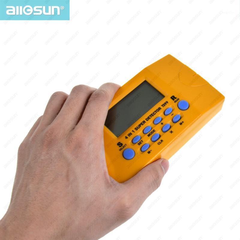 Все Sun TS99 4 в 1 Супер детектор Ультразвуковой бытовой детектор детектор бытовой шпильки / металла / напряжение / расстояние лазерные провода AC Metal1